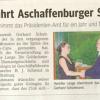 Henrike Lange führt Aschaffenburger Schöntal-Lions