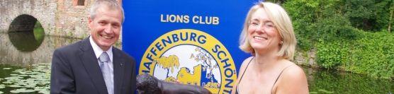 Lions-Club Aschaffenburg-Schöntal hat neuen Präsidenten