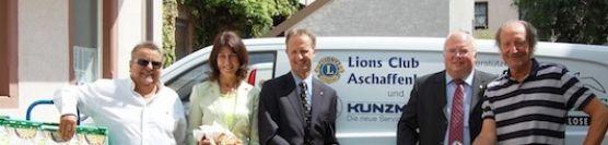 Gemeinsam Stark für Grenzenlos – Aschaffenburger Lions-Clubs spenden 12 Tonnen Lebensmittel im Wert von über 30.000 EUR
